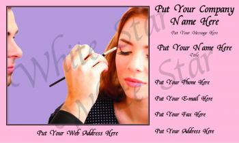 Cosmetologist Professional Eyelash Application