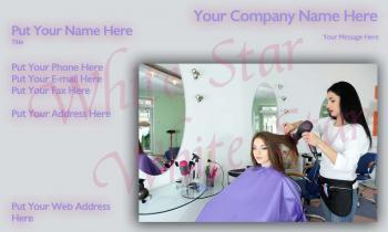 Hair Stylist Professional Styling