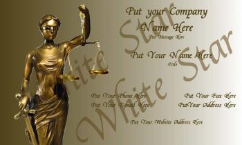 Legal Professional Lady Justice in Bronze