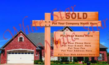 Real Estate Professional Sale Sign