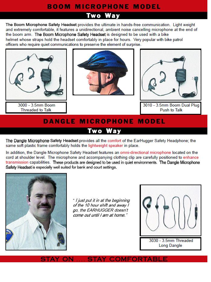 Ear Hugger Police Brochure pg 3