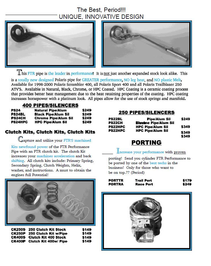 FTR Catalog Page 1