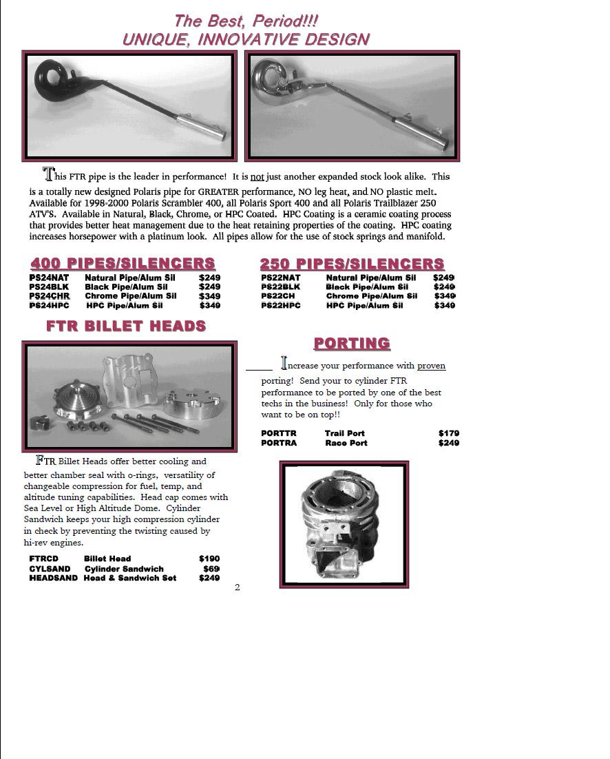 FTR Catalog Page 2