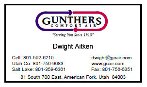 Gunther Bus Card