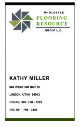 Fooring Resource Bus Card 1