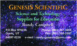 Genesis Scientific Bus Card 1