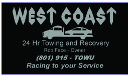 West Coast Towing Bus Card