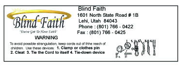 Blind Faith Label
